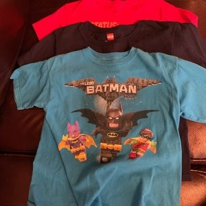 Lot of 4 boys short sleeve tees, medium